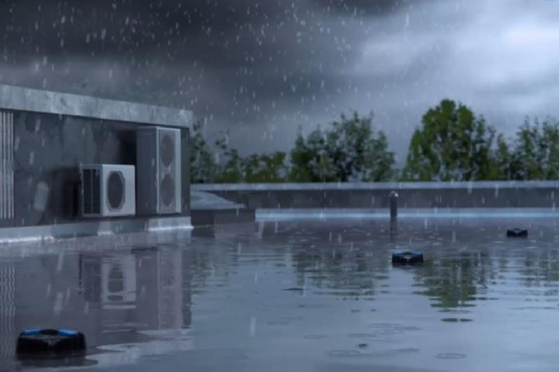 Impianti di evacuazione delle acque meteoriche